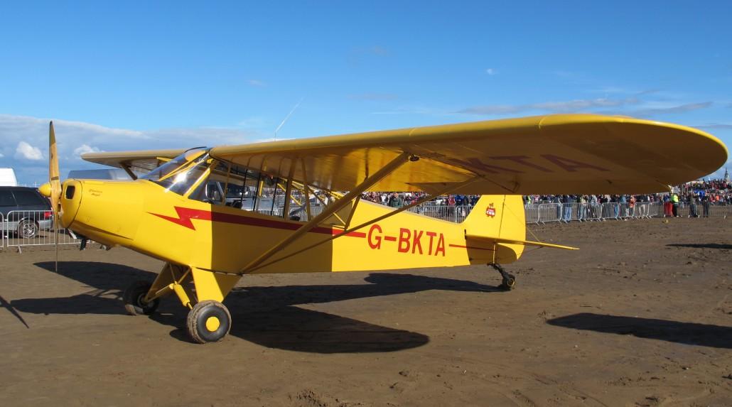 G-BKTA L-18 Super Cub