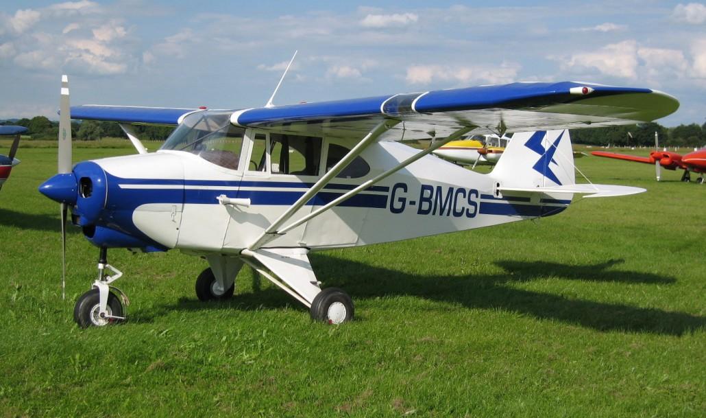 G-BMCS PA-22 Tri-Pacer