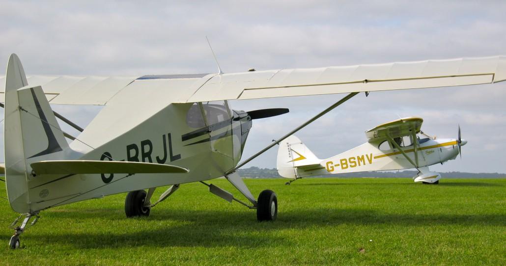G-BRJL PA-15 / G-BSMV PA-17