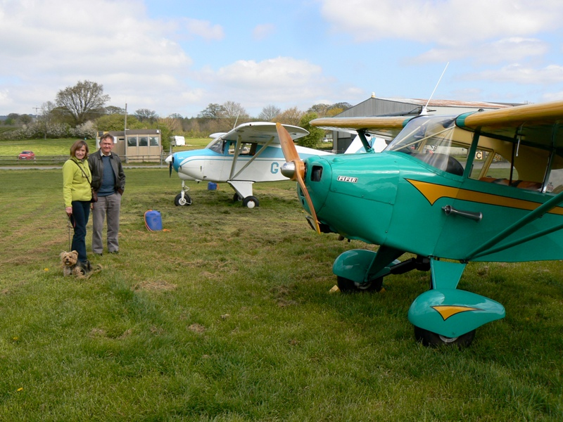 Impromptu meet at Shobdon, April 2014