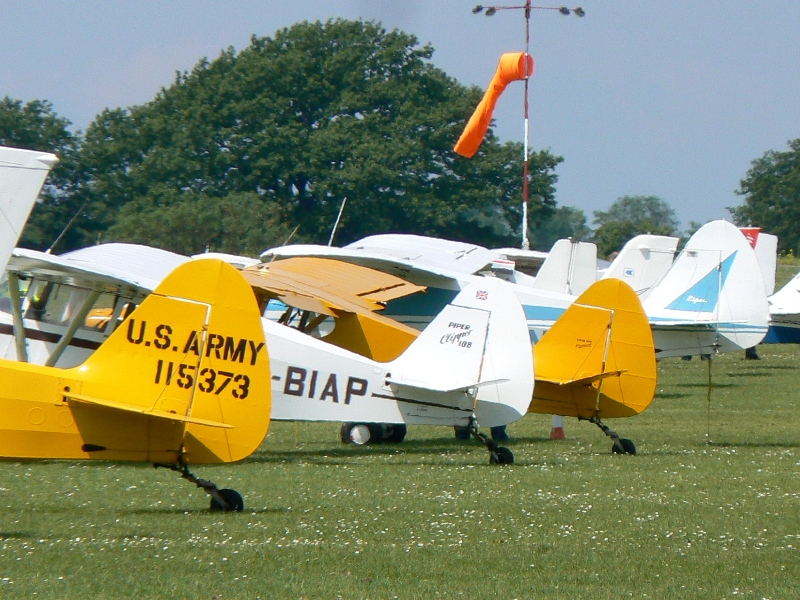 Vintage Pipers at Aero Expo 2014