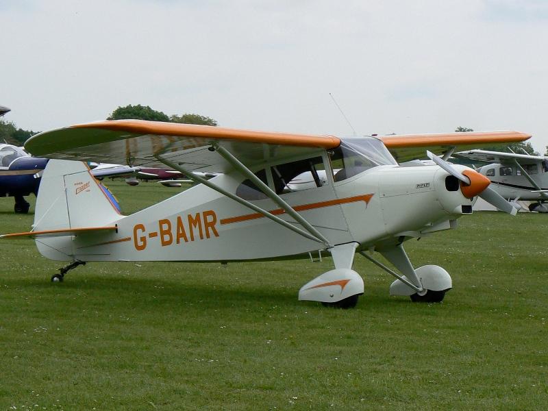 G-BAMR at Aero Expo 2014