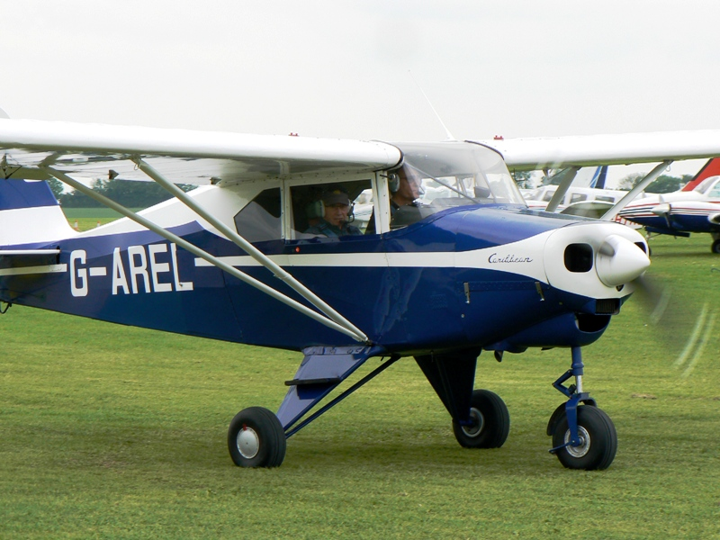 G-AREL at Aero Expo 2014