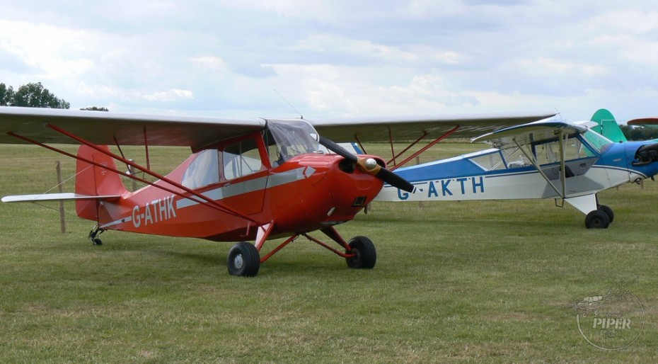 G-ATHK and G-AKTH at Goodwood 2014
