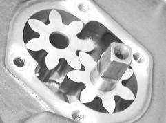 Parts, Cogs, Oil, Pump
