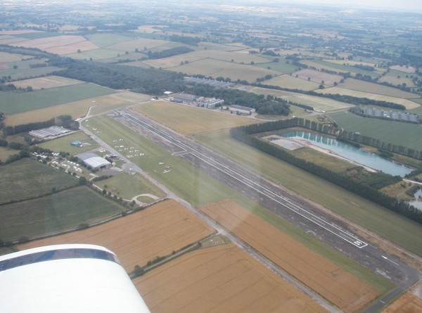 Shobdon Airfield from the Air