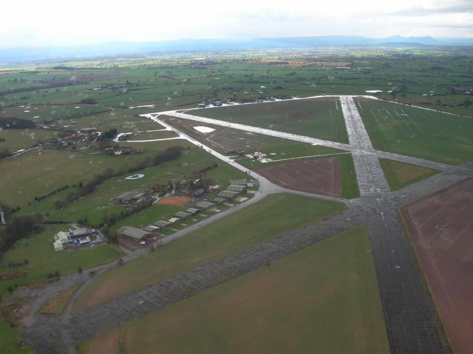 Sleap Aerial Image